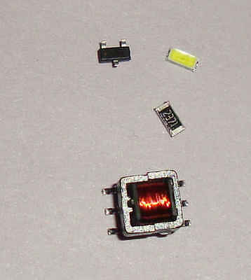 Electronics DIY parts kit joulethief SMD with schematics $