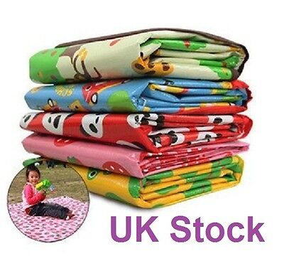 UK Stock Wow Large Waterproof Beach Outdoor Picnic Mat Play Travel Mat 180*160cm
