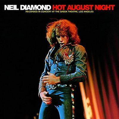 Hot August Night - Neil Diamond Compact Disc Free Shipping!
