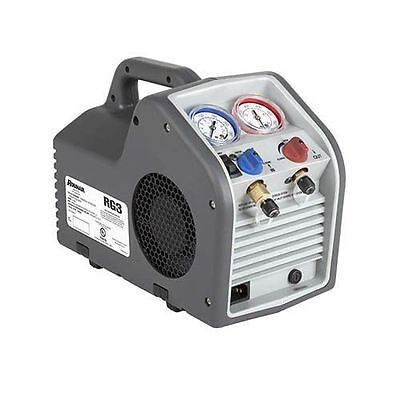 Robinair RG3 Portable Lightweight Compact Refrigerant Recovery Machine Shut Off