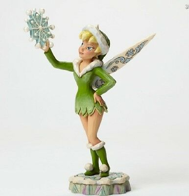 Tinker Bell Winter Pose Disney Figurine  Jim Shore