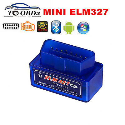 OBD OBD2 Auto Car Diagnostic Scanner Bluetooh ELM327 Usb v2.1 Interface