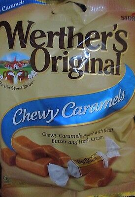 STORCK Werther's Original CHEWY Caramels {1 POUND BULK CANDY}