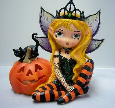 Jasmine Becket Griffith Trick or Treat Fairy Figurine Bewitching Tales