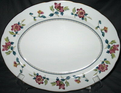 Wedgwood Chinese Flowers  Oval Serving Platter