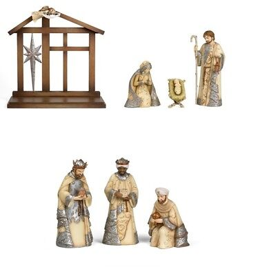 Nativity 7 Piece Set Figurine Comfort to Go Collectible - Home Decor