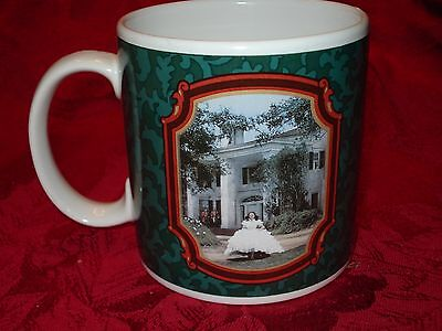 Vtg Gone With The Wind / Tara Coffee Mug Cup Scarlett Ohara Southern Belle 3.5""