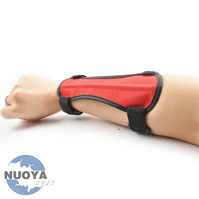 Children Red  Protector Arm Guards Barcer For Archery Compound & Recurve Bow