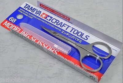 Tamiya 74068 Modeling Scissors For Photo Etched PE Parts Model Small Craft Tools
