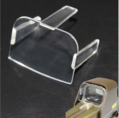 Clear Lens BB Airsoft Protector Cover for 556 557 Type Holographic Sight Scope