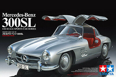 Tamiya 24338 1/24 Scale Model Car Kit Mercedes-Benz 300SL W198 Gullwing Coupe
