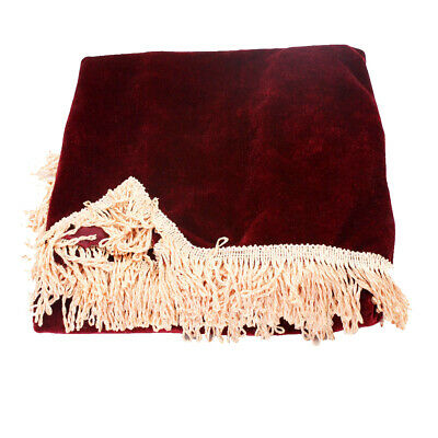 88-key Piano Keyboard Dust Cover Keyboards Anti-scratch Protect Cloth Maroon