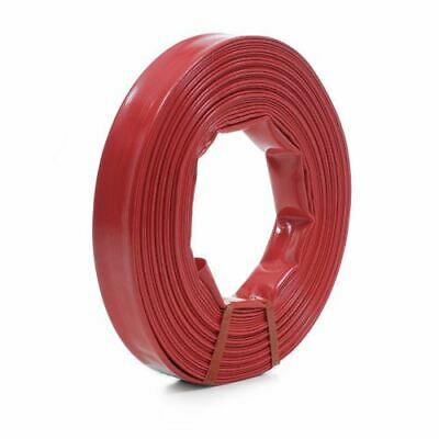Swimming Pool Heavy Duty Red Backwash Hose 15m