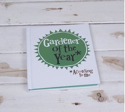 Bright Side Gardener of The Year Notebook - Garden Journal Planner Gift Idea