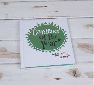 Bright Side Gardener of The Year Notebook