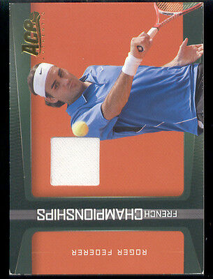 2007 Roger Federer Ace Authentic Jersey Card #FC-3