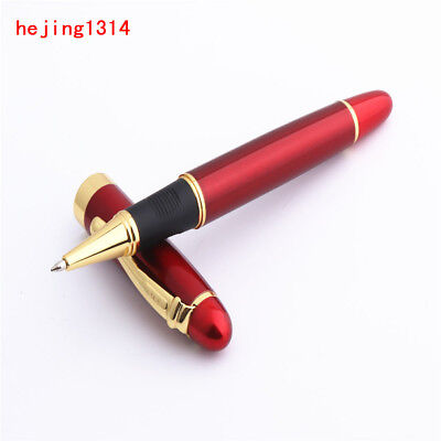 Jinhao X450 bright red colour Business Office 0.5 Black ink Rollerball Pen New
