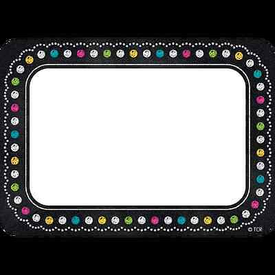 TCR CHALKBOARD BRIGHT'S Name Tags (5623)