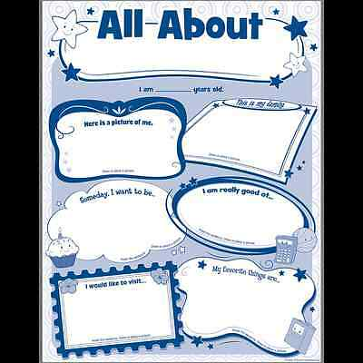TCR ALL ABOUT ME Students Poster Pack (5222)