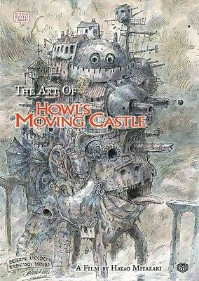 The Art of Howl's Moving Castle by Hayao Miyazaki Hardcover Book (English)