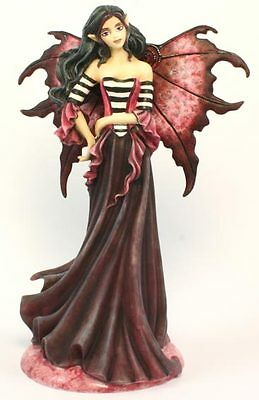 Goth Magenta Fairy - Amy Brown  Fairysite Collectible