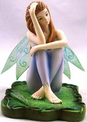 Eucalyptus Fairy Figurine - Lisa Steinke - Green Magick Collection - Munro Gifts