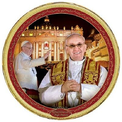 His Holiness Pope Francis Commemorative Plate  - Bradford Exchange