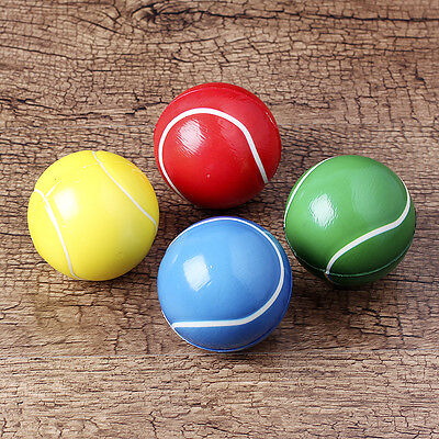 4Pcs Sponge Tennis Ball (10cm) Small Soft foam Mini toys Kids Safety Sport EVA H