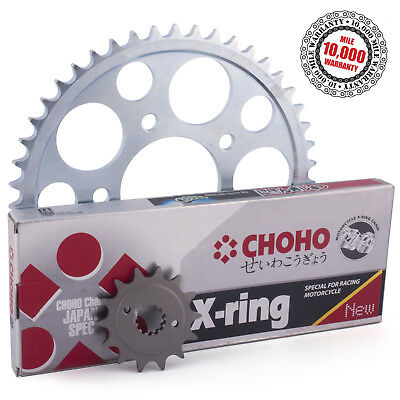 Suzuki GS550 Disc 1980 X-Ring Drive Chain and Sprockets Kit