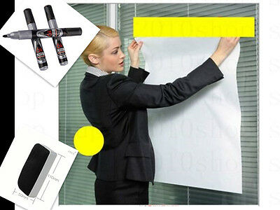 Magic Whiteboard Office  Wall paper Erasable whiteboard pen Whiteboard Eraser