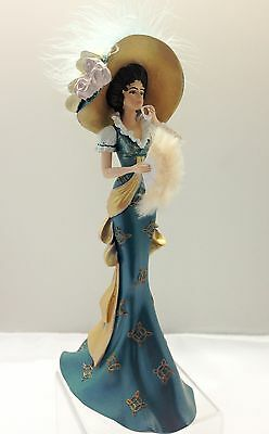 A Precious Promise Lady Figurine Thomas Kinkade Whispers of Victorian Elegance