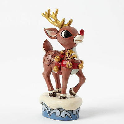 Rudolph with Gold Accents Disney Traditions Jim Shore Figurine