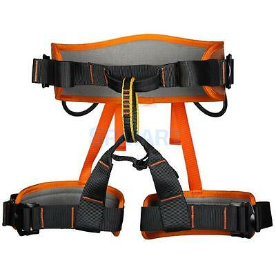 Mountaineering Rock Climbing Safety Harness Rappel Gear Waist Sitting Belt