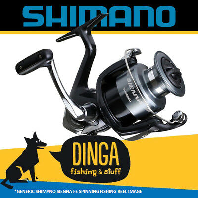 Shimano Sienna 1000FE Spinning Fishing Reel