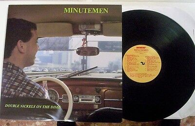 """Minutemen  """"Double Nickels On The Dime"""" 2LP gatefold SST 028 made in USA"""