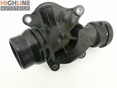 BMW E46 320D 01-05 2,0 D 110KW Thermostat Flansch Thermostatgehäuse 2248038