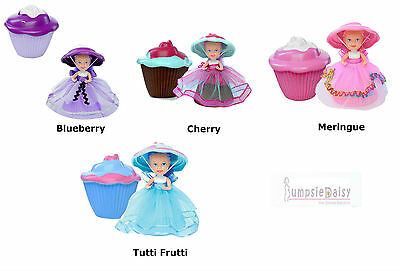 NEW Cupcake Surprise Scented Doll Blueberry Cherry Meringue Tutti Frutti Avail