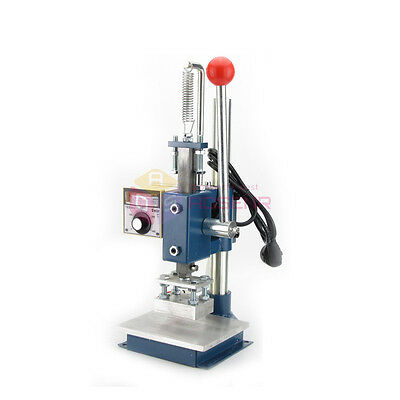 10*13CM PRO Manual Leather Printing Hot Foil Stamping Embossing Marking Machine