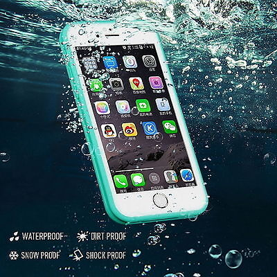 Waterproof Shockproof Hybrid Rubber TPU Phone Cover For iPhone5/5s 6/6s 7/ Plus