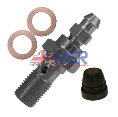 Stainless Banjo Bolt & Bleed Nipple/Screw M10 x 1.00mm