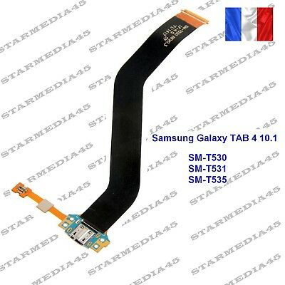 Nappe connecteur charge USB + MIC Samsung Galaxy TAB4 10.1 SM T530 / T531 / T535