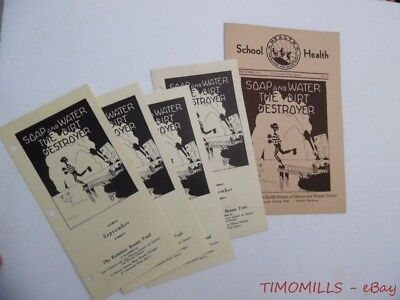 1931 Tuberculosis Health Society of Detroit Michigan Pamphlet Lot Public Info VG