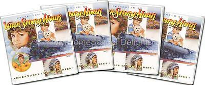 NEW Your Story Hour ADVENTURES IN LIFE 4 Albums Complete SET 48 Children's CDs