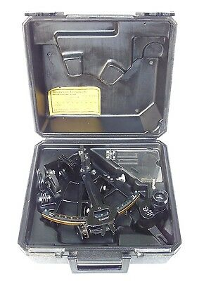 Marine Ships Nautical Tamaya Sextant Ms-2L Nr.t-9667 With Certificate & Box