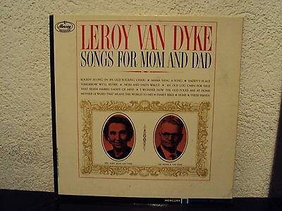 LEROY VAN DYKE - Songs for mom and dad