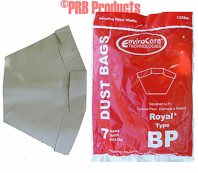 Hoover Type BP 401000BP Backpack Vacuum Cleaner Bags Shoulder Pro Vac Commercial