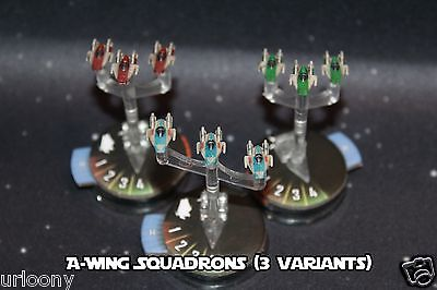 Star Wars Armada Decals for REBEL SQUADRONS Expansion Pack