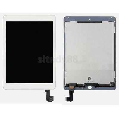 LCD Display+Touch Screen Digitizer Assembly Replacement For iPad Air 2 White