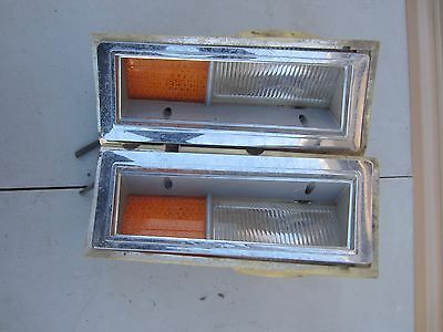 1989 Lincoln Town Side Marker Lights E-147