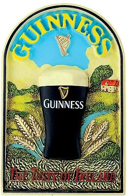 Guinness Taste of Ireland 3D resin fridge magnet (se 5016)